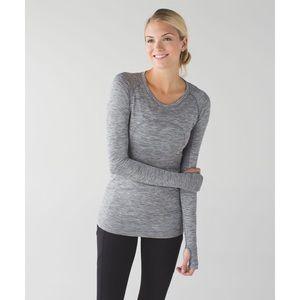Lululemon Swiftly Tech Long Sleeve Grey